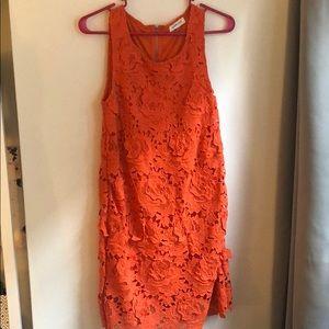 ✨ Sleeveless lace dress